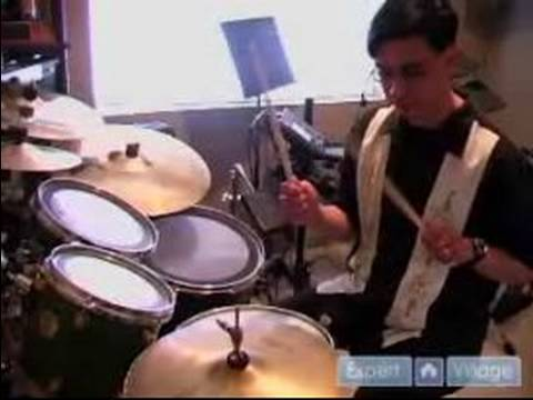 How to Play Drums : Basic Rock Patterns & Drum Playing Styles