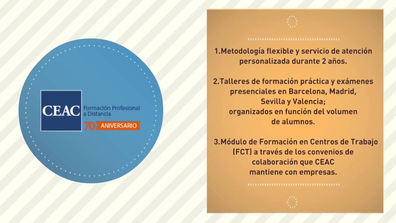 Titulación 100 Oficial De Fp Con Ceac