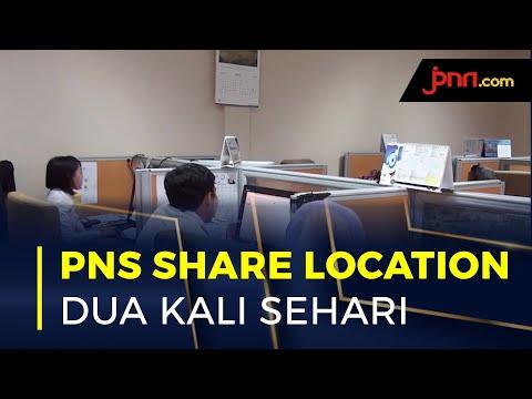 PNS Dilarang Mudik, Dipantau Lewat Share Location