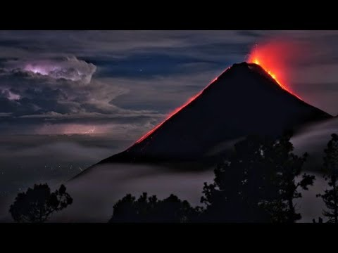 The Fuego Volcano In Guatemala Explodes - Record Breaking Eruption - Ring of Fire Update