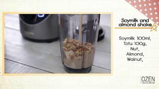 OZEN真空破壁調理機 堅果營養代餐 #11 OZEN Vacuum Blender Recipe for meal replacement English
