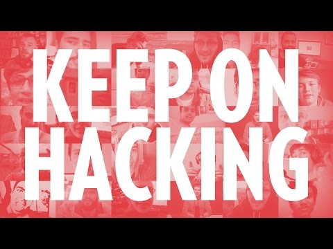 KEEP ON HACKING community video