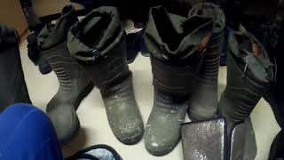 Вахта Сабетта    Обзор обуви кабланы против чуней.