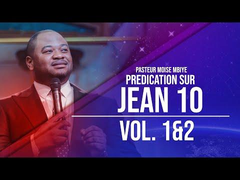 Pasteur Moise Mbiye - Jean 10 (Prédication) part 1