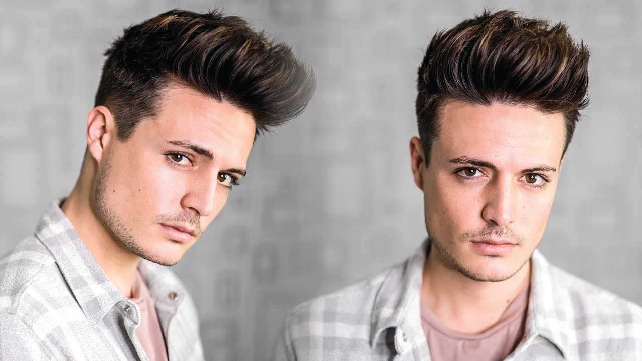 Super Easy Texture Quiff Hairstyle Tutorial 2018  Mens New Year New Hair  BluMaan 2018  YouTube