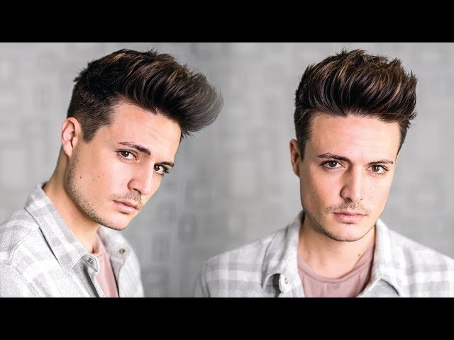 Super Easy Texture Quiff Hairstyle Tutorial 2018 Mens New Year New