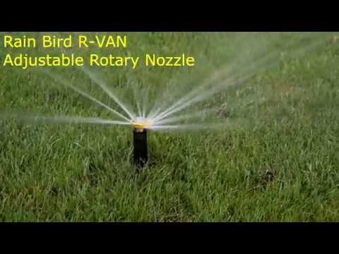 Rain Bird R-VAN Adjustable Rotary Nozzle Sprinkler (1080p)