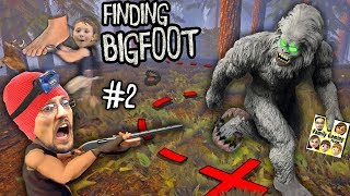 BIG FOOT RETURNS! MONSTER HUNTER \u0026 TRACKER GAMEPLAY! + DOOFY DEER (FGTEEV FINDING BIGFOOT #2)
