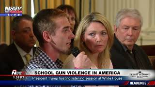 SPEAK OUT: Student That Survived Florida Massacre DEMANDS Gun Law Changes (FNN)