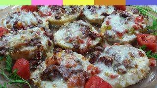 Mini Patates Pizzalar - Nefis Kahvaltılık Tarifi