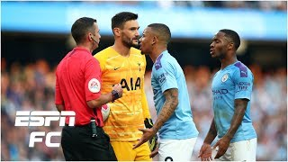 Former referee explains why Man City weren't awarded a penalty for Lamela incident | Premier League
