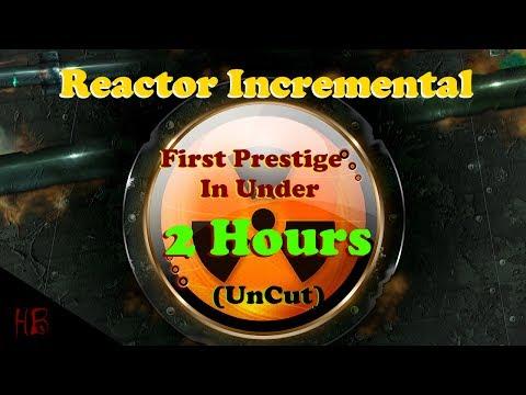 Reactor Incremental First Prestige 0-551 Exotic Particles (UnCut)