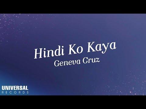 Geneva Cruz - Hindi Ko Kaya (Official Lyric Video)