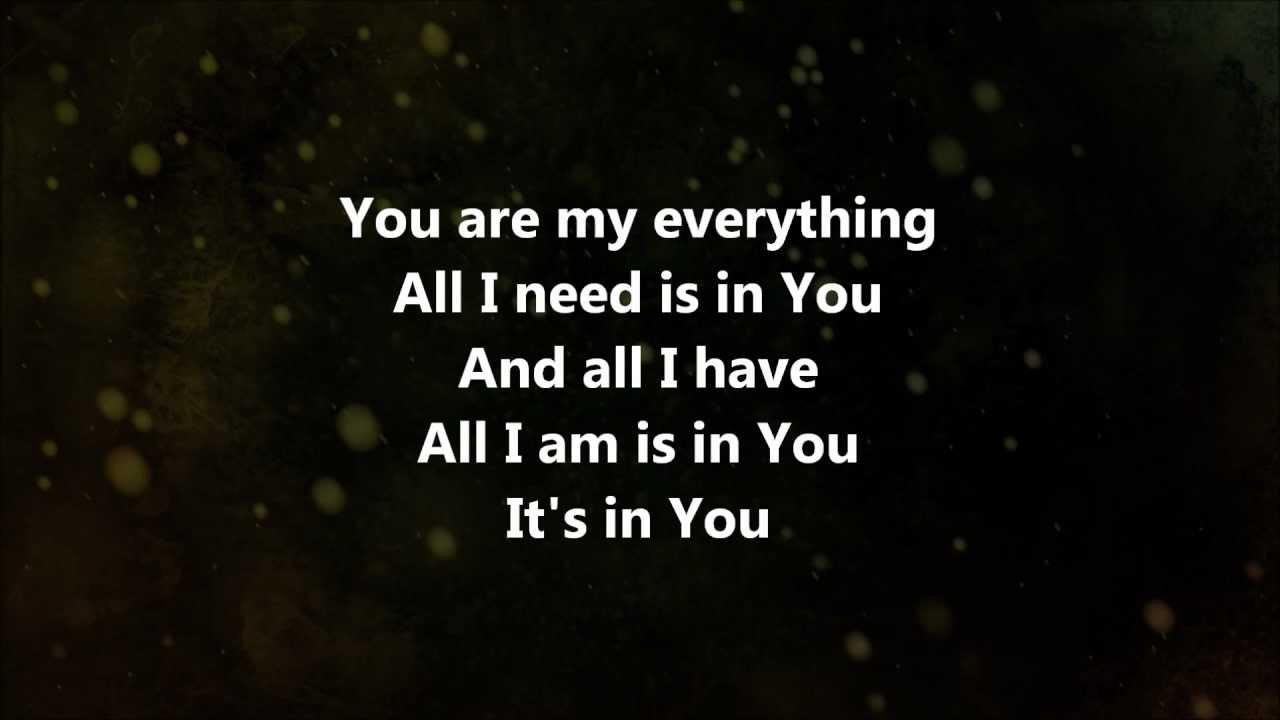 My Everything Jesus Culture W Lyrics Youtube