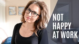 Why You're Not Happy at Work