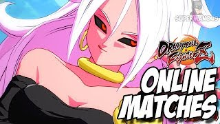 MY FAVORITE CHARACTER IN DRAGON BALL FIGHTERZ - Dragon Ball FighterZ Android21, Goku Black & Gotenks