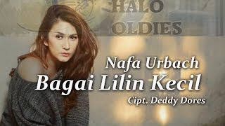 Nafa Urbach - Bagai Lilin Kecil (Lyric Video)