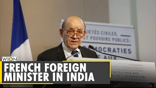 French Foreign Minister Le Drian on a 3-day visit to India | S Jaishankar | Latest English New