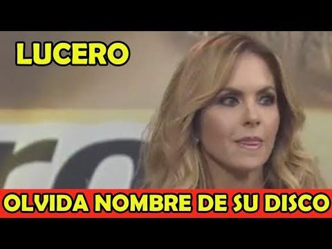 Lucero Olvida el nombre de su Disco en 'Hoy' y se equivoca en Playback