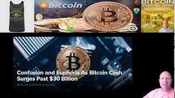 Confusion and Euphoria As Bitcoin Cash Surges Past $30 Billion