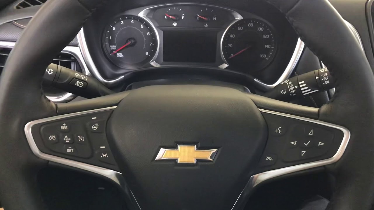 2018 Chevy Equinox Oil Life Reset Youtube