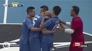 UEFA Futsal Champions League - FK Chrudim vs Acqua & Sapone Unigross - Highlights