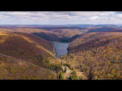 Lyman Lake in the fall