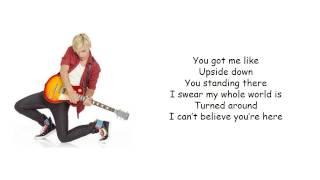 """Ross Lynch (Austin & Ally: """"Turn It Up"""") - Upside Down Karaoke / Instrumental Cover"""