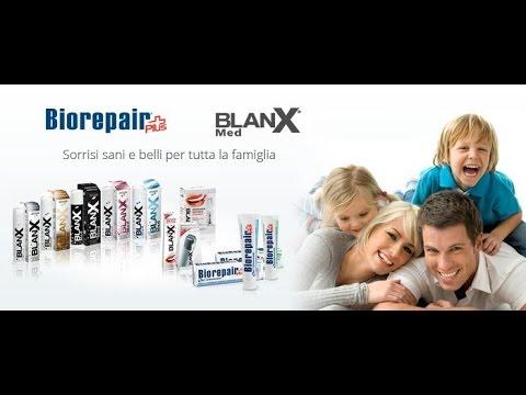 Итальянские зубные пасты Blanx и Biorepair