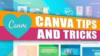 Canva Tutorial 2018: 5 Canva Tips And Tricks For Beginners