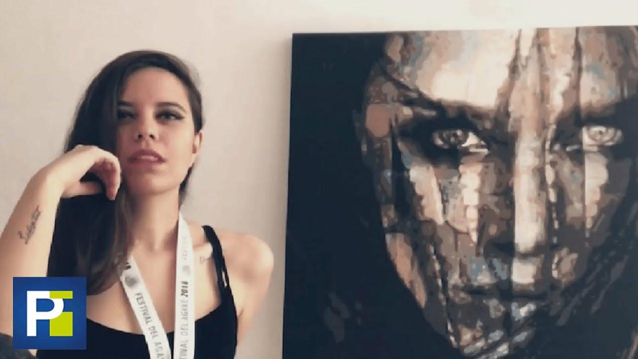 """""""Jesús me pidió que lo pintara"""": artista mexicana dice que su inspiración va de la mano con su fe"""