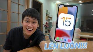 LÊN LUÔN iOS 15 CHÍNH THỨC!!! - REVIEW NHANH CHO ANH EM:))