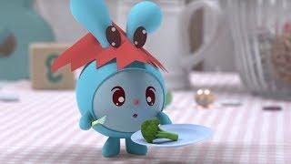 Малышарики - Голодуша- серия 124- обучающие мультфильмы для малышей
