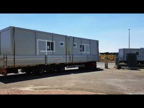 Insulated Prefabricated Container