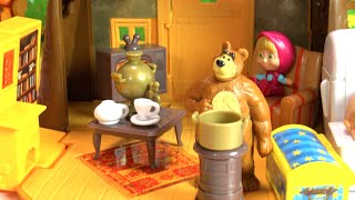 Маша и медведь. Домик Миши из мультика Маша и Медведь. Masha and the Bear