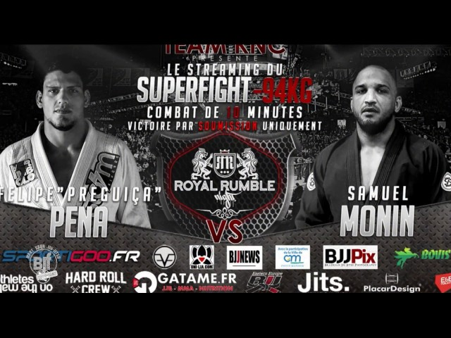 Felipe Pena vs Samuel Monin royalrumblenight 19 112016