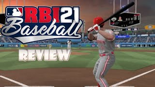 RBI Baseball 21 (Switch) Review (Video Game Video Review)