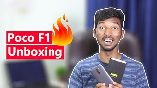 Poco F1 Unboxing & Overview in telugu | by Telugu Tech TV