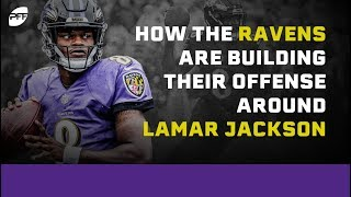 How the Baltimore Ravens are building their Offense around Lamar Jackson | PFF