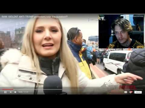 Thunderf00t Goes Regressive On Lauren Southern over Anti Trump Protests