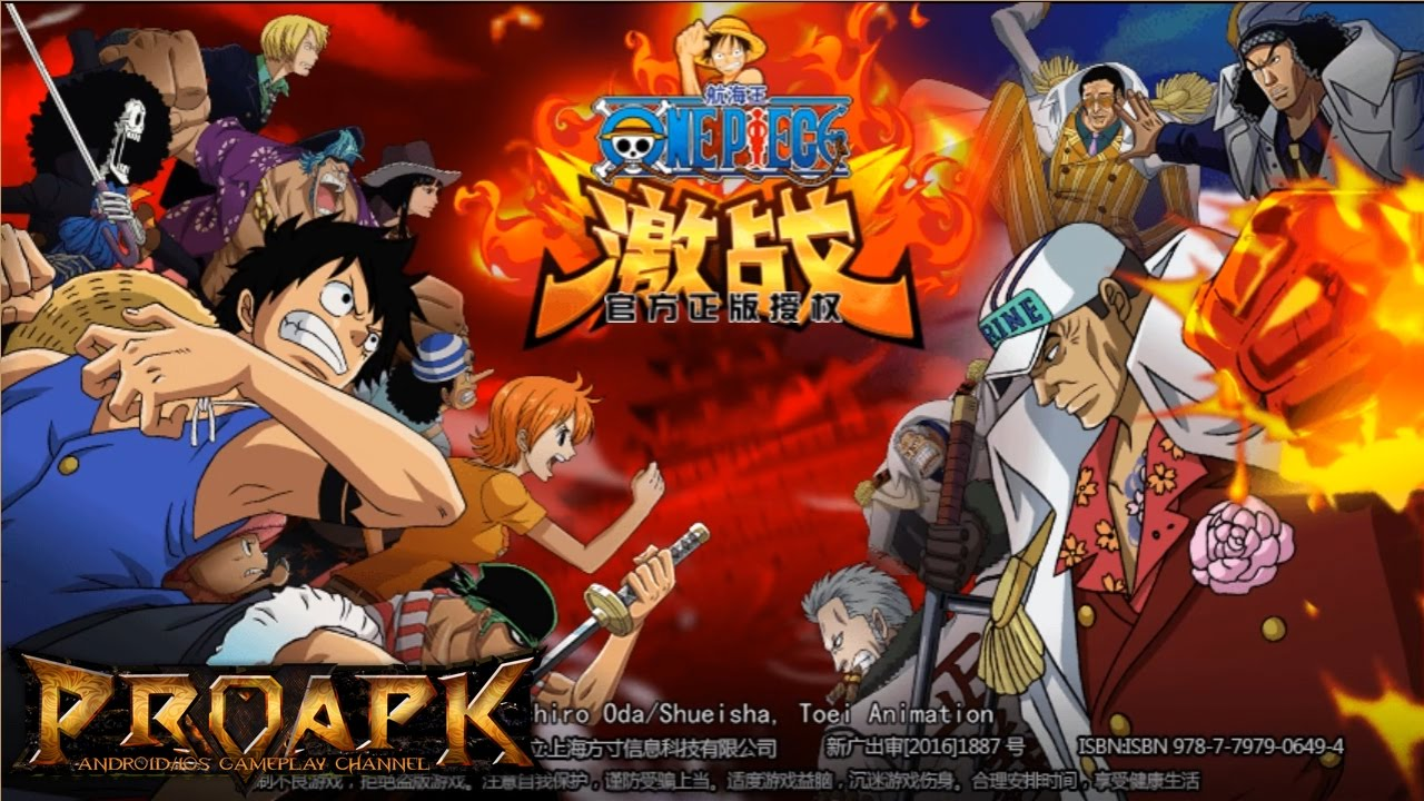 One Piece Battle Android Gameplay (CN)