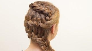 Техника плетения французской косы пошгово: водопад, колосок, зигзаг, ободок, наоборот, с лентой, фото и видео