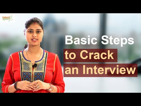 Basic Steps to Crack an Interview | Interview Preparation Tips | TalentSprint