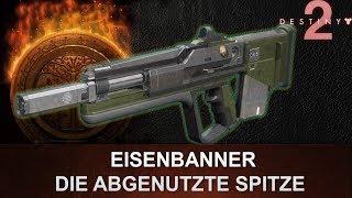 """Destiny 2: Eisenbanner Impulsgewehr Review """"Die Abgenutzte Spitze"""" (Deutsch/German)"""