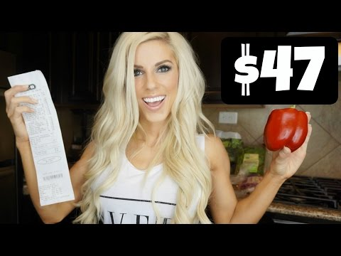 EATING HEALTHY ON A BUDGET   $47