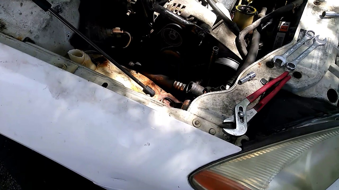 01 07 ford taurus 3 0 how to bypass ac without purchase of pulley [ 1280 x 720 Pixel ]