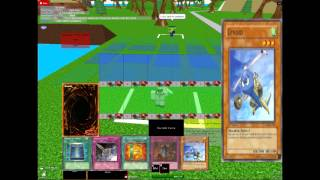 Yu-Gi-Oh GX Tutorial on roblox.