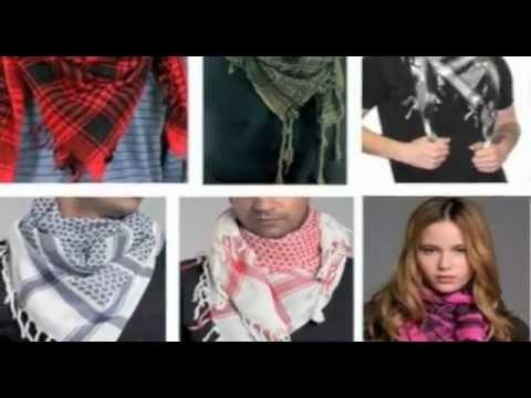 Kuffiyeh symbolic of Palestinian pride and resistance.