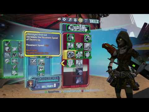 Borderlands 2: Aweeome Level 80 OP 10 Gaige the Mecromancer Build and Skill  Tree