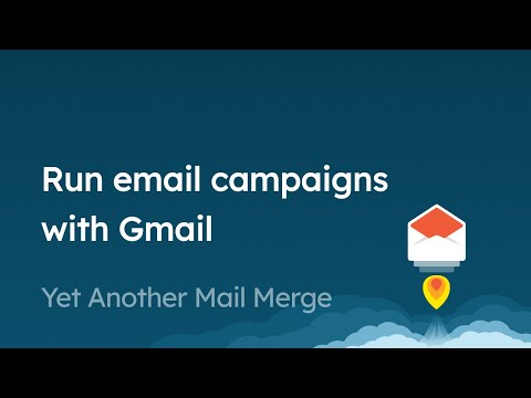 How to send a mail merge in Gmail using Yet Another Mail Merge